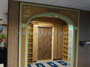 طاق و سردرب مسجد